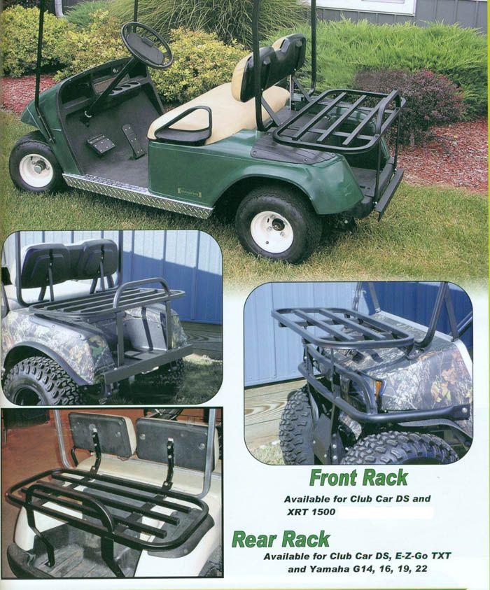 Cargo Racks Golf Cart Cargo Beds Dump Beds Flat Beds Golf