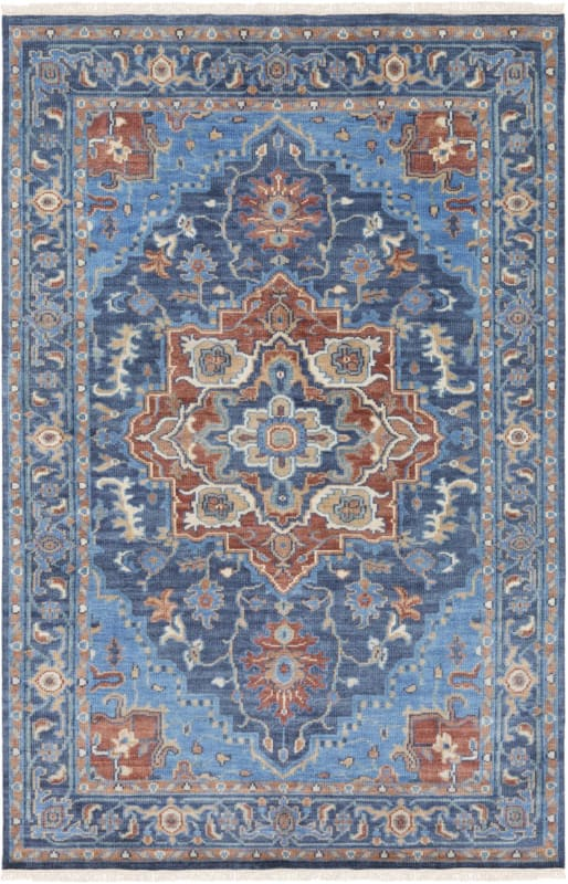 Surya Exi1000 913 Elixir 9 X 13 Rectangle Wool Hand Knotted