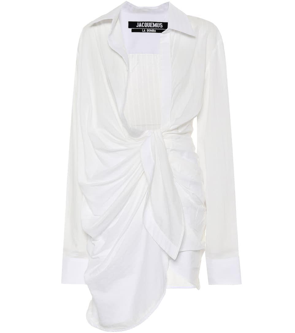e902d9b8c3d La Tunique Bahia Cotton Dress - Jacquemus