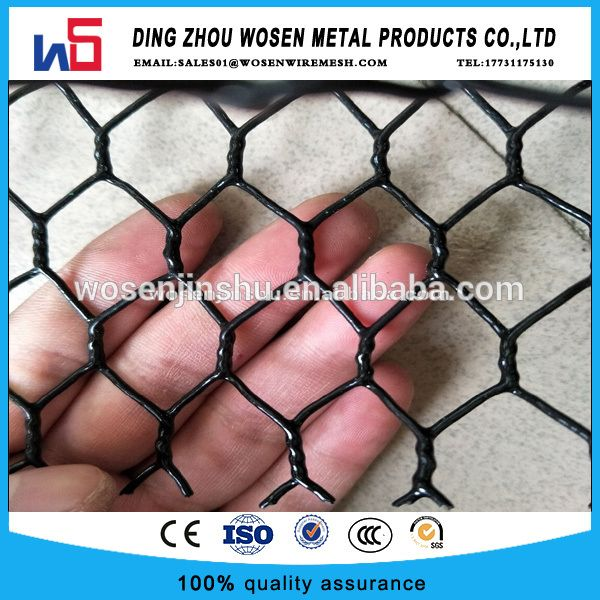 Black Vinyl Coated Crab Trap Wire Fish Trap Mesh Wire Black Vinyl Metal Products Vinyl