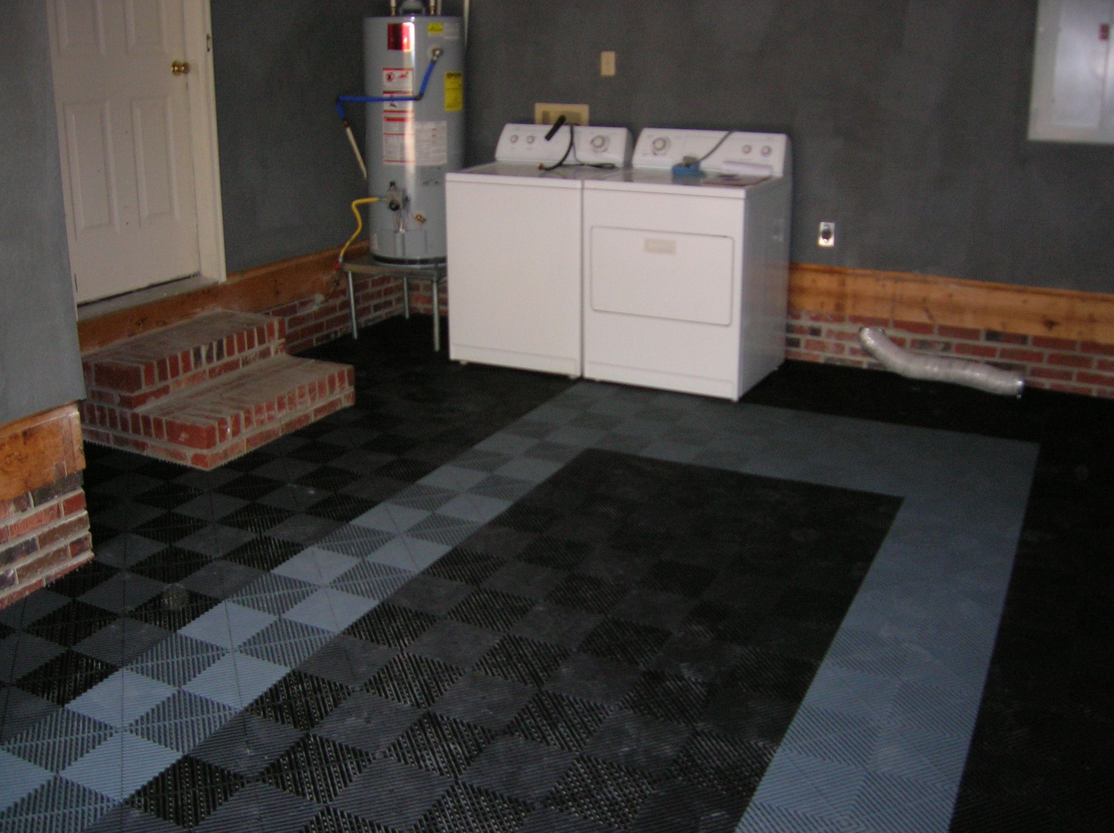 Traxtile Garage Flooring Or Some Call It Ribtrax Ideas For The - Traxtile flooring