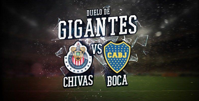 Horario Chivas Vs Boca Juniors Y Por Donde Ver El Partido Amistoso