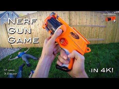 FPS Nerf-Gun Game 0.1 | Filmed With GoPro Hero Session ...