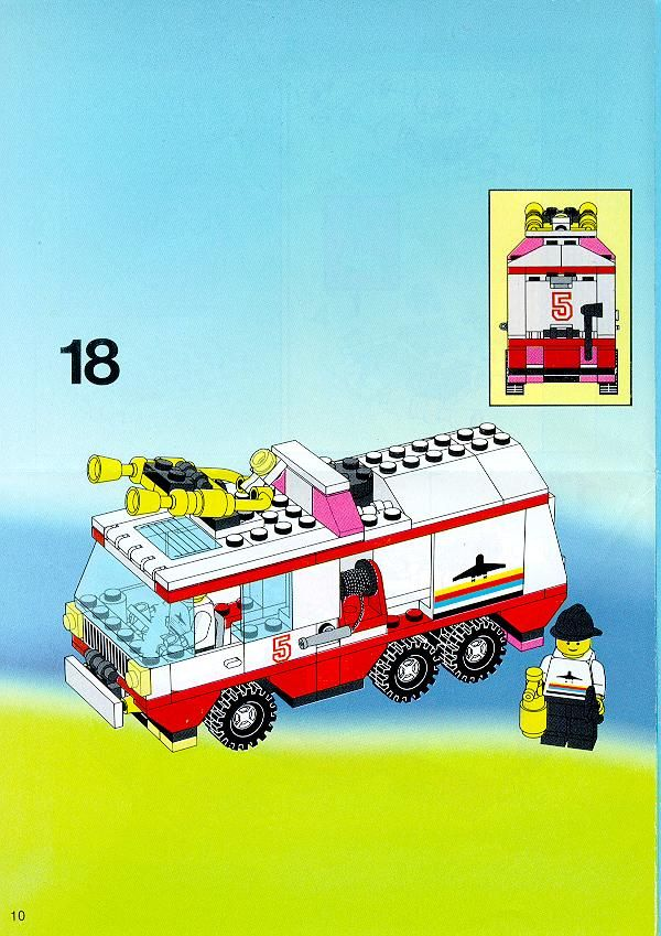 Town Airport Fire Squad Lego 6440 Lego Fire Veh Pinterest