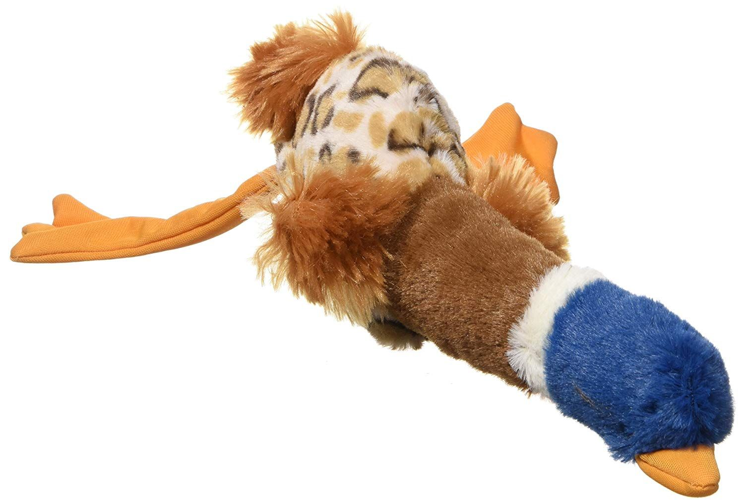 Ethical 5733 Skinneeez Plus Duck Stuffing Less Dog Toy 15 Inch