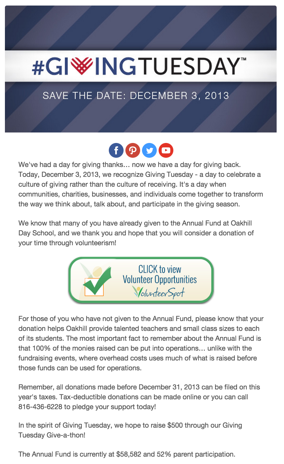 10 Giving Tuesday email ideas that drive donations