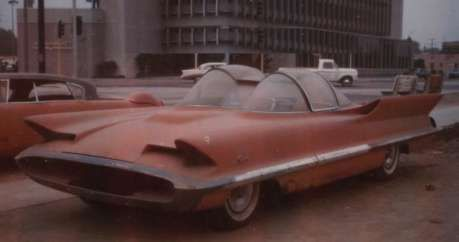 The Lincoln Futura Concept Car 1955 With Images Concept Cars