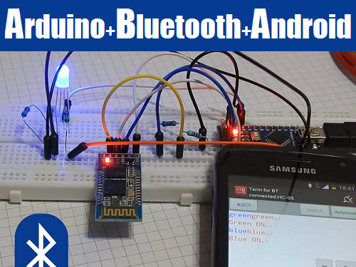 Tutorial control arduino with android adding bluetooth
