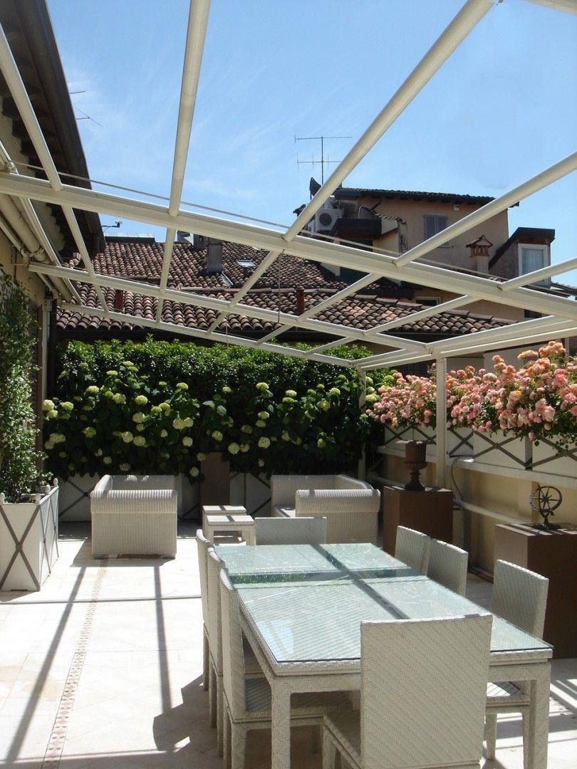 Brescia. Private terrace. A peaceful and relaxing corner