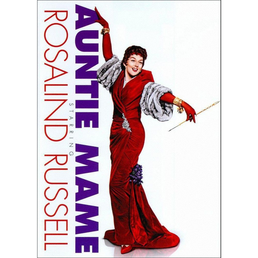 Auntie Mame (DVD) Auntie mame, Turner classic movies