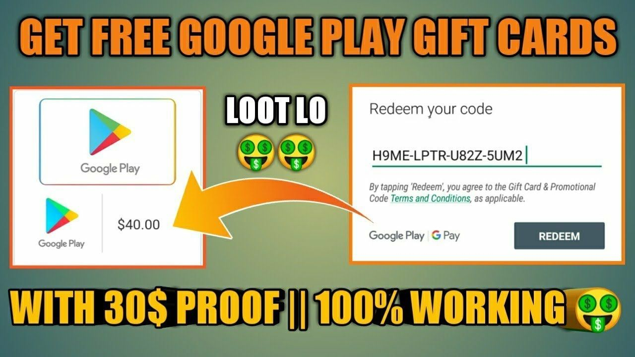 100 google play gift card codes in 2020 google play