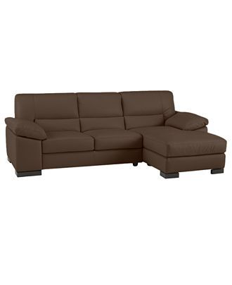 spencer leather sectional from macys things for the home