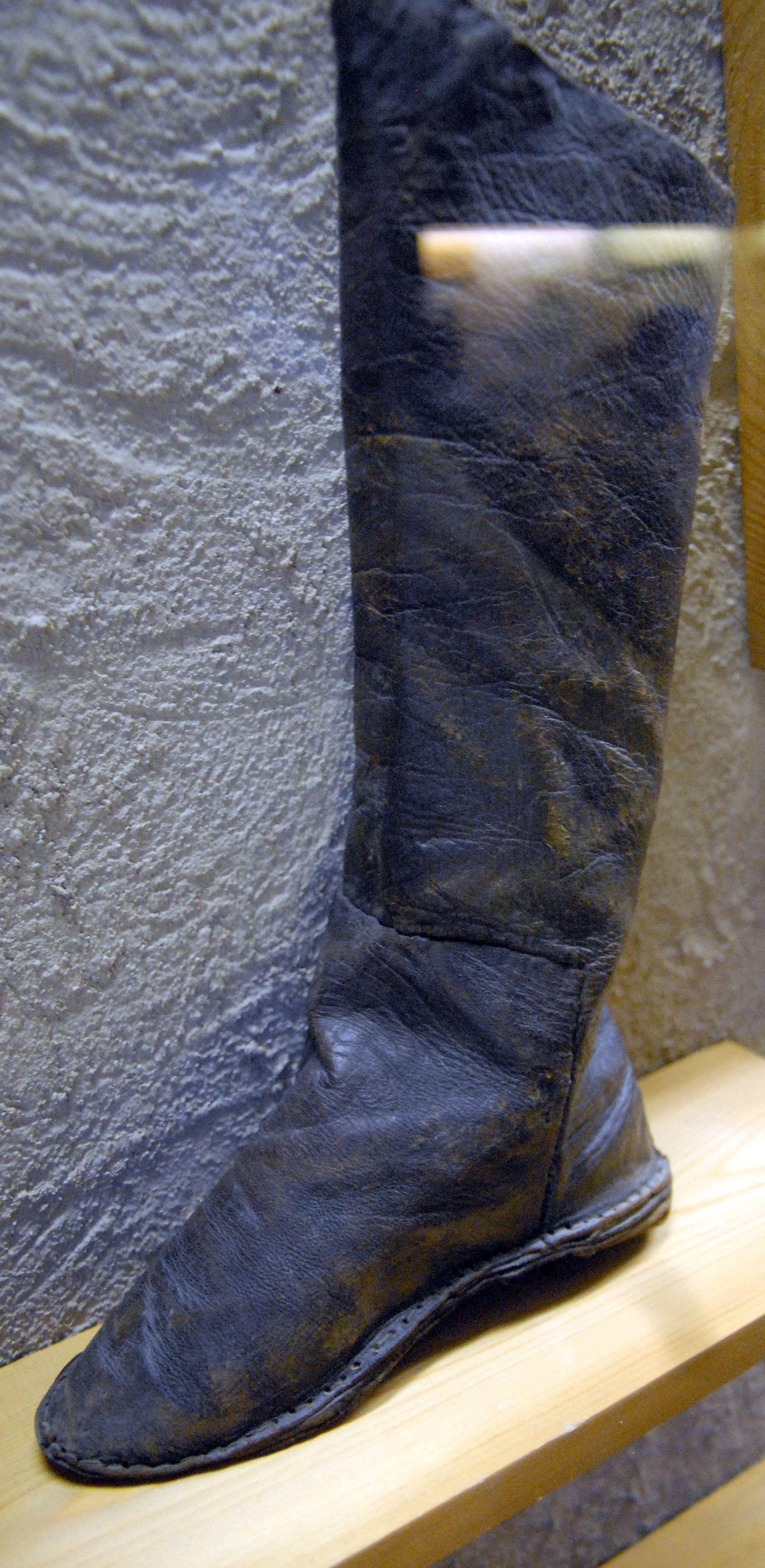 Medieval Novgorod Leather Tall BootShoes Lederstiefel tsQhrdC