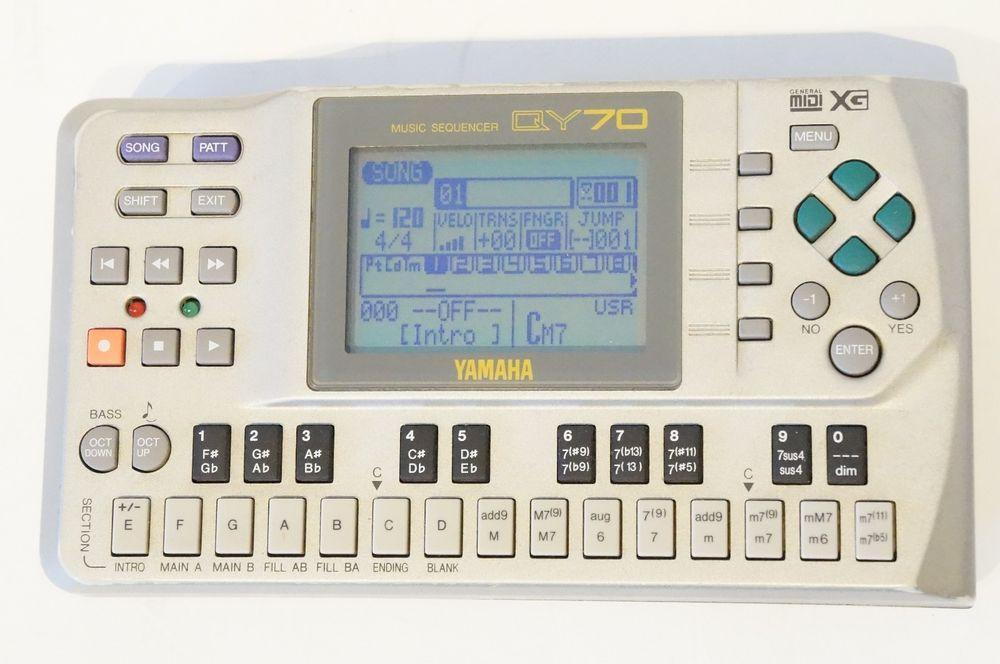 YAMAHA QY70 Workstation Sequencer MIDI QY70 World Ship My