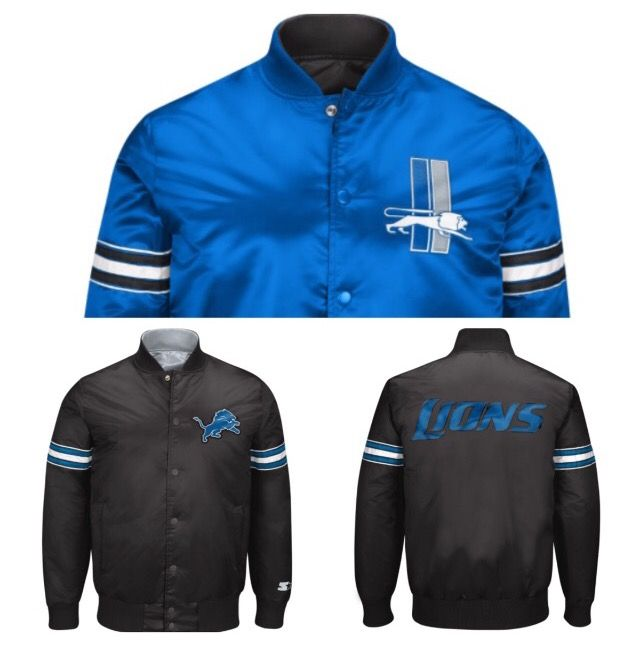 8c6925e8 Pin by Donna Sacs on Detroit Lions Team Apparel Jackets and Vests ...