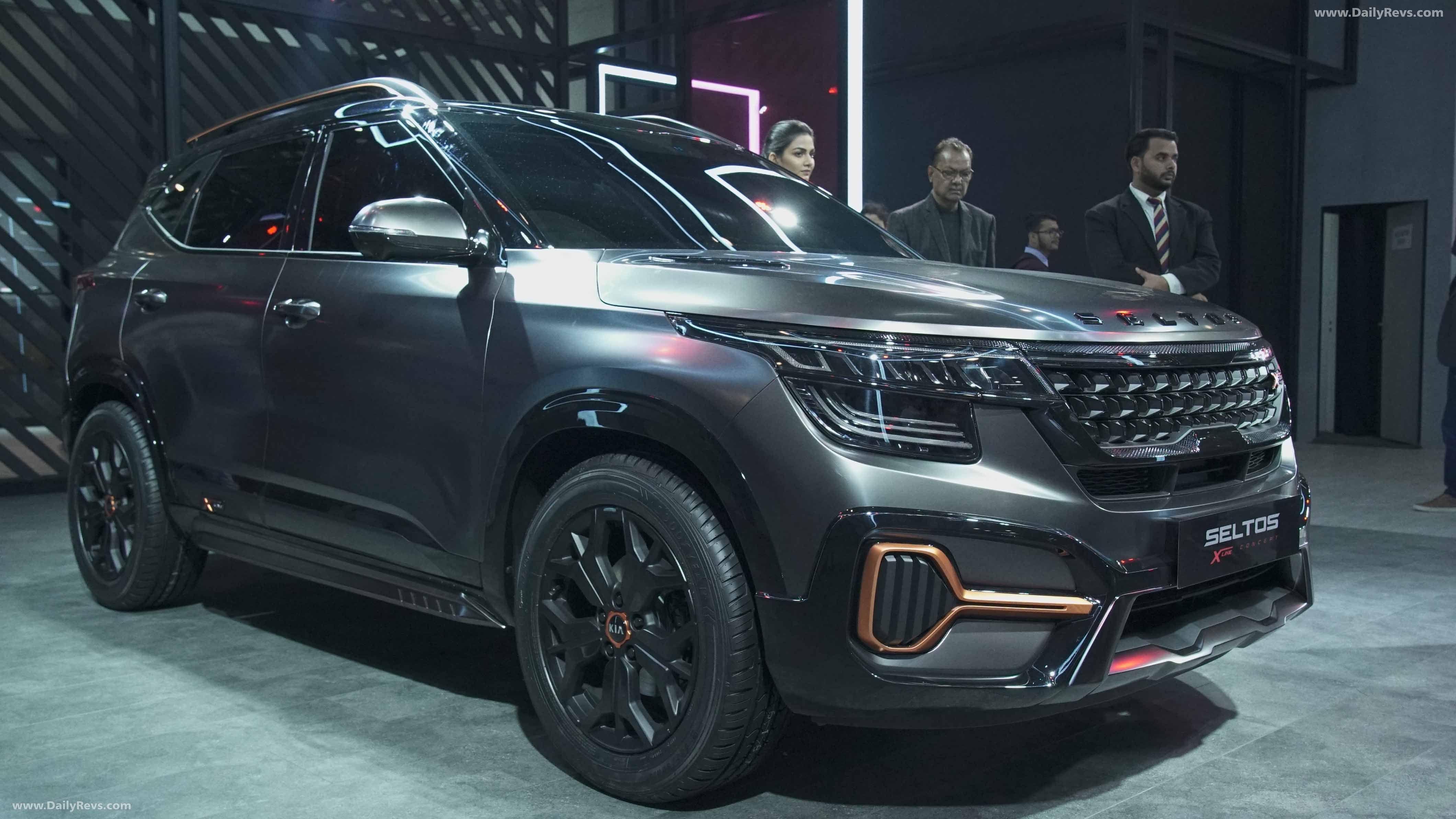 2020 Kia Seltos X Line Dailyrevs In 2020 Kia Compact Suv Kia Motors