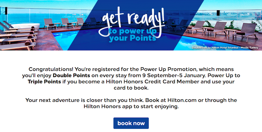 Hilton Honors Promo Earn Up To Triple Points Travel News Hilton American Express Card