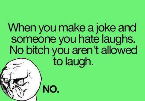 don't laugh...