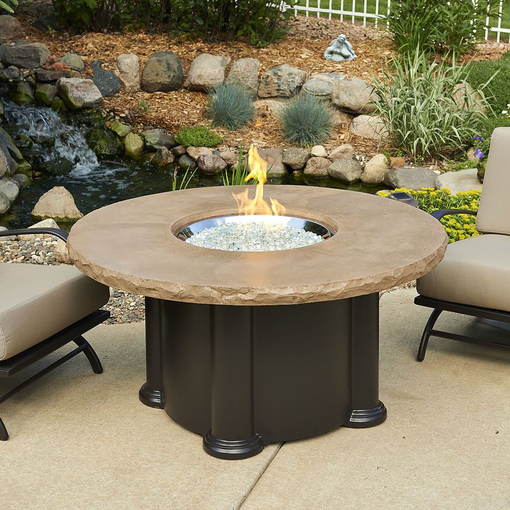 50+ Round Gas Fire Pit Table - Modern Luxury Furniture Check more at http://www.nikkitsfun.com/r ...