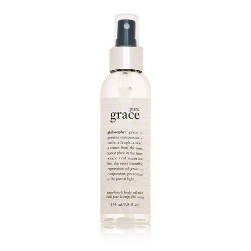 Philosophy Pure Grace Satin-Finish Body Oil Mist, 5.8 Ounce $25.00