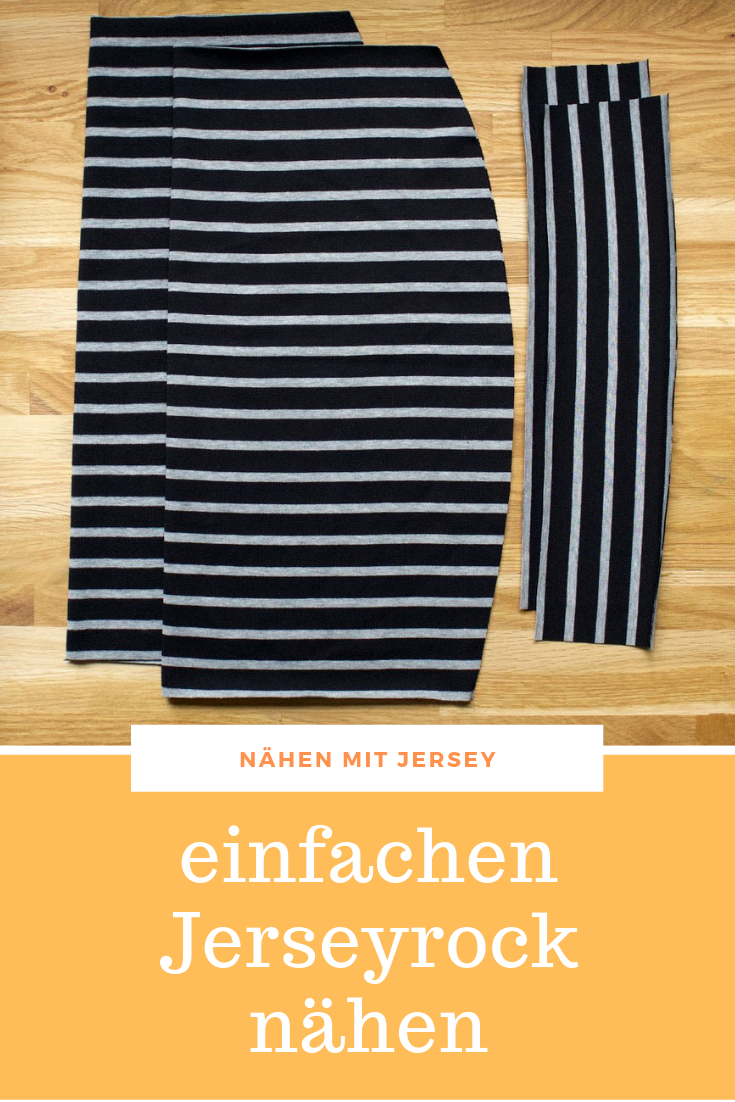 Photo of Easy Jersey Skirt Sewing – Free Sewing Instructions