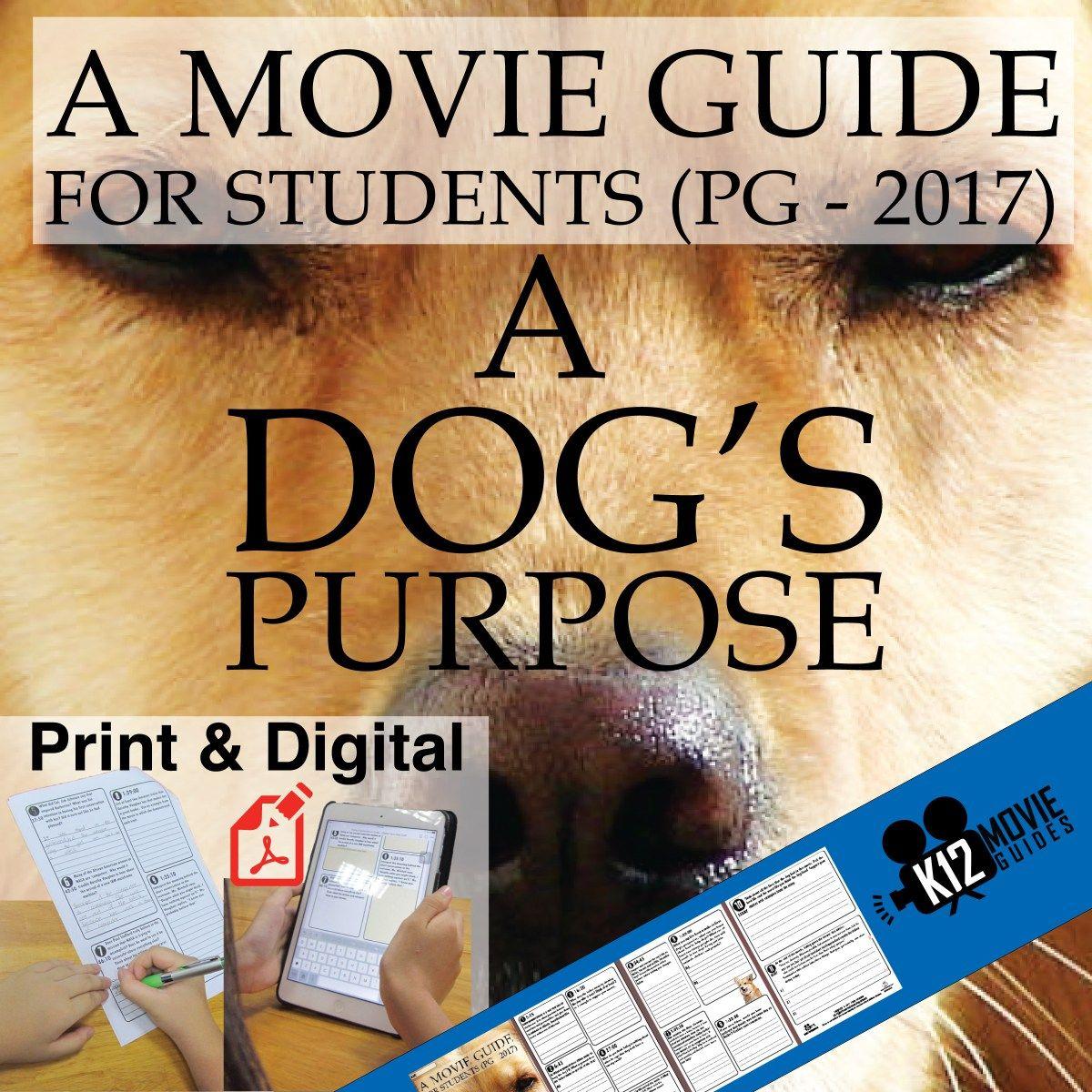 A Dog S Purpose Movie Guide