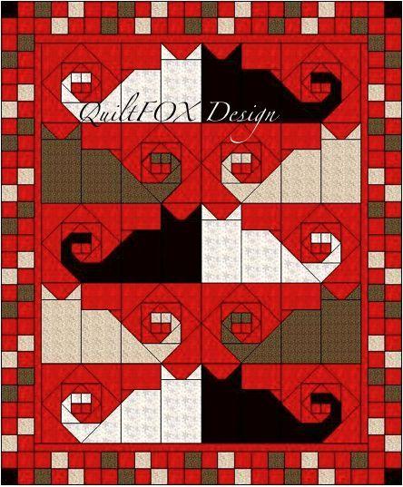 Image Result For Bookshelf Full Size Quilt Patterns Nahen