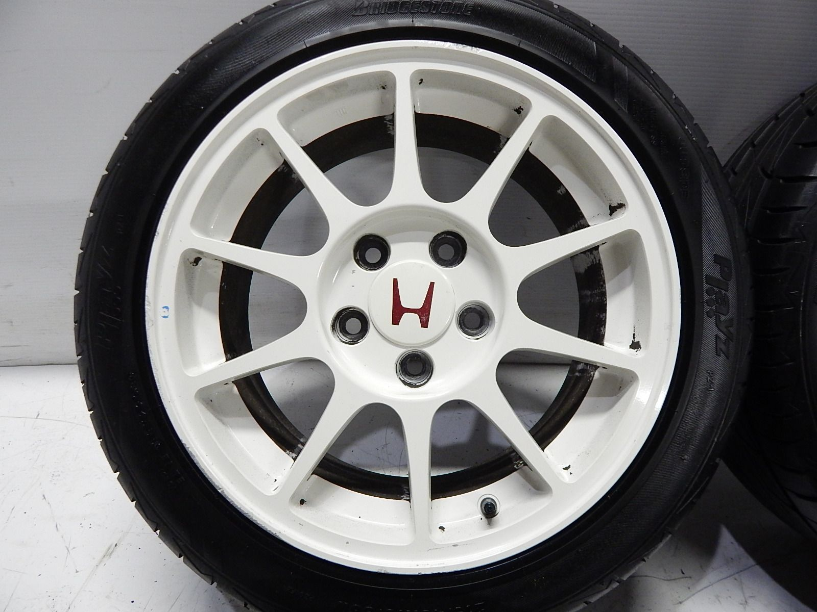 acura integra type r 5x114 white wheels wheels pinterest