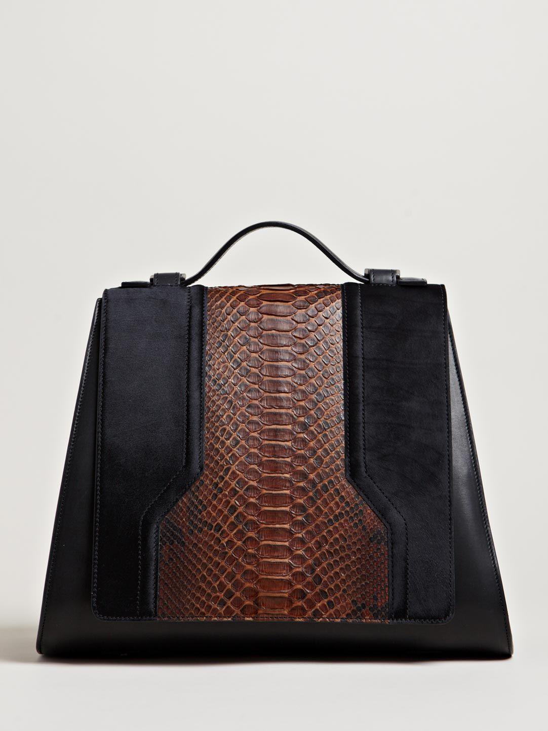 09a437884ac0 Damir Doma Women s Balti Python Shoulder Bag