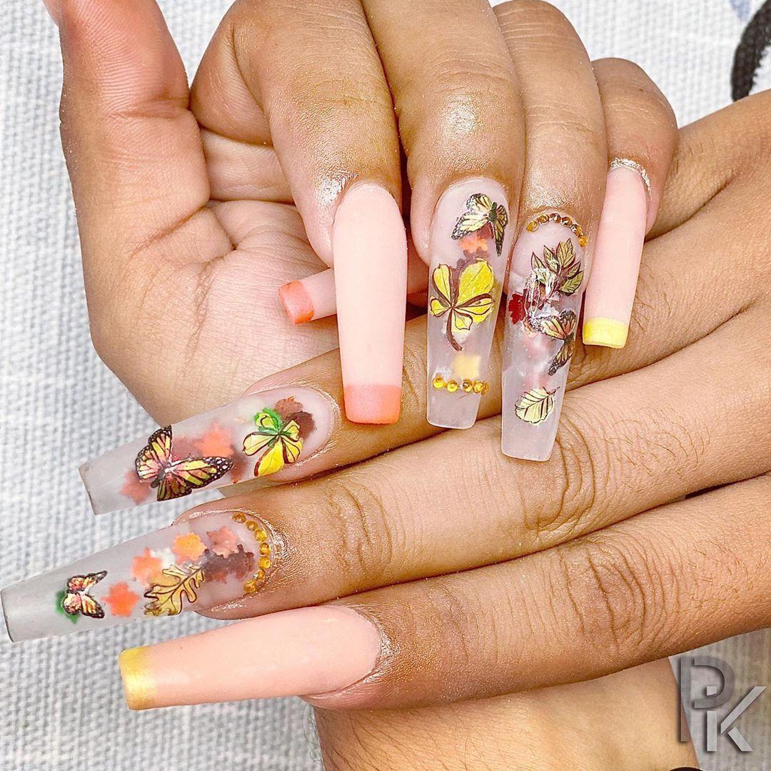 Autumn nail 🍂🍁🍂 . . . #nail #nails #nailstagram #nailart #nailswag #naildesign #nailedit #nailsofinstagram #nailporn #nailartclub #nailartaddict #nailartwow #nailsoftheday #notd #nailgame #nailsonfleek #notpolish #nailartists #nailtechs #chicagonails #nailsmagazine #nailsonfie #squarenails #naillover #naillove nailstyle #manicure #nailpro #nailtrend #acrylicnails
