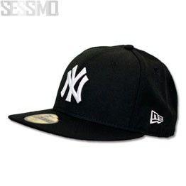 New York Yankees Black 59FIFTY Cap
