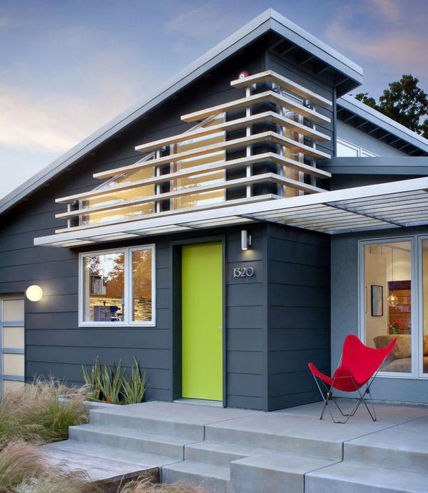 Blue White Modern Color Scheme House Exterior Schemecolor