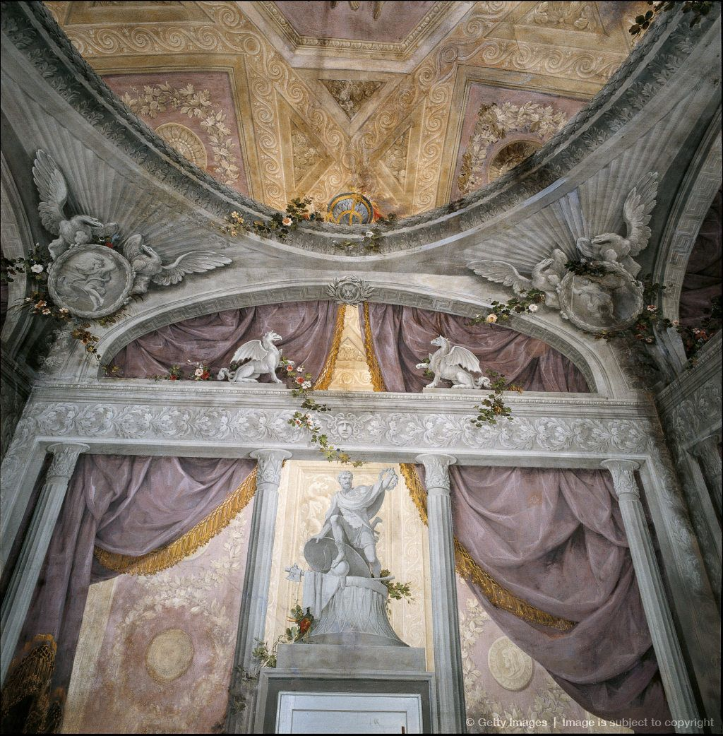 Image Detail for - Palazzo Sanguinetti Aldini, by Antonio Basoli, 18th Century.