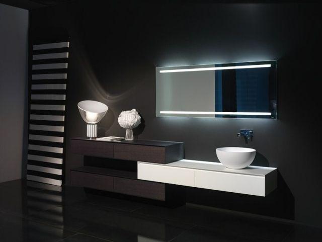 Miroir Design Dans La Salle De Bains - 30 Idées Magnifiques