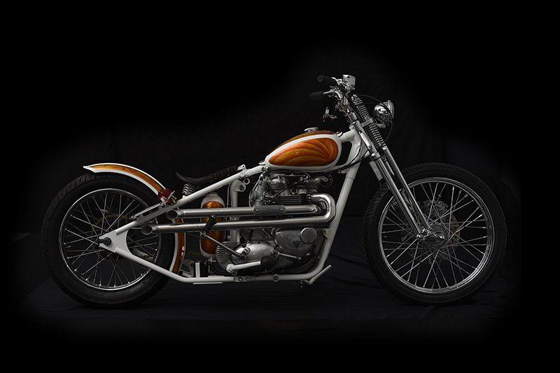 1969 Triumph Bonneville T120R - origin8or Custom Motorcycles