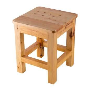 Loon Peak Arapaho Accent Stool Wayfair Stool Woodworking Plans Stool Diy Stool