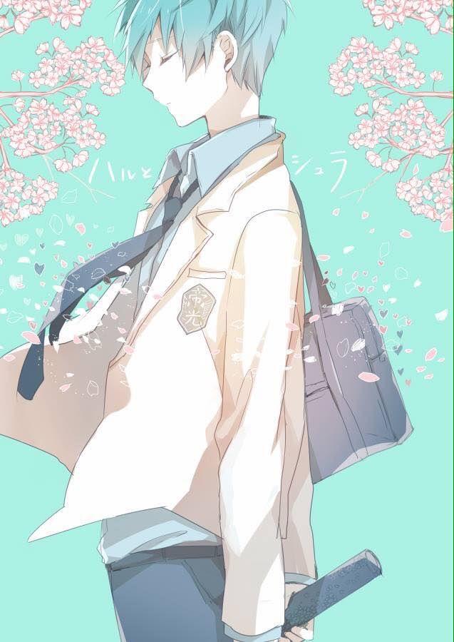 桜と黒子テツヤ