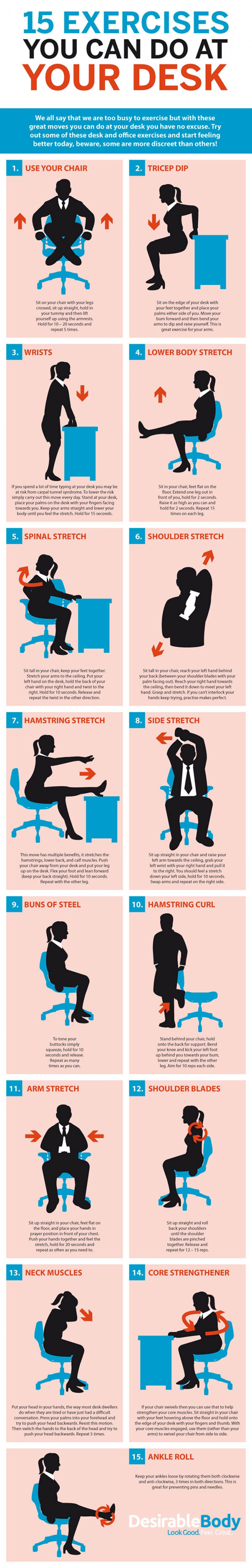 chair based exercises for legs