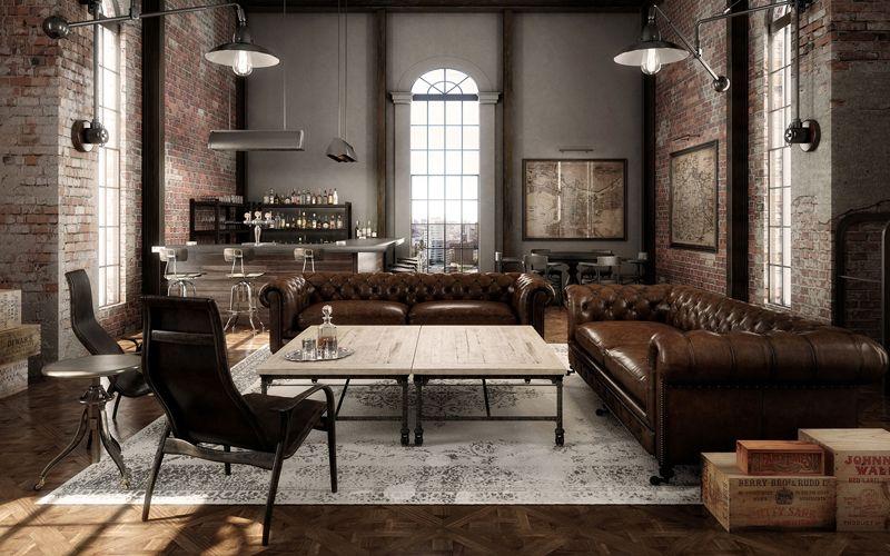 Rustic Industrial Decor Rustic Industrial Living Room Industrial Decor Living Room Industrial Living Room Design