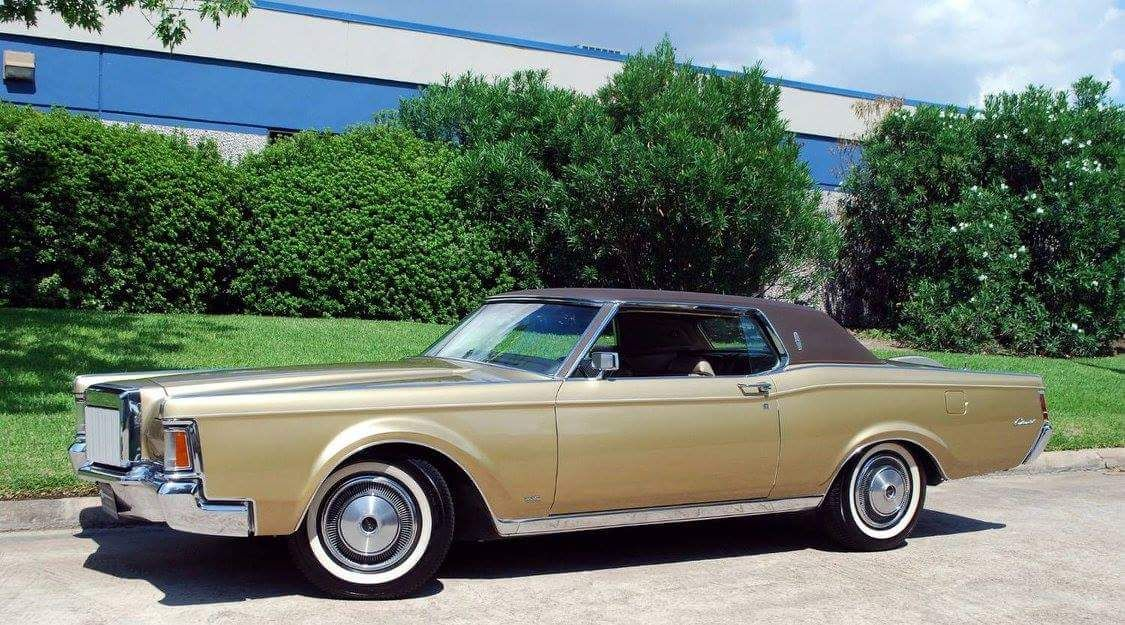 1970 Lincoln Continental III | LINCOLNS (my favorite years ...