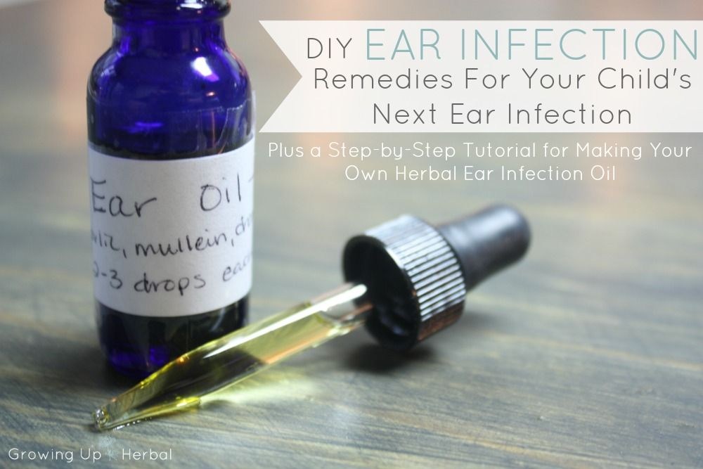 Diy Ear Infection Remedies For Your Child S Next Ear Infection