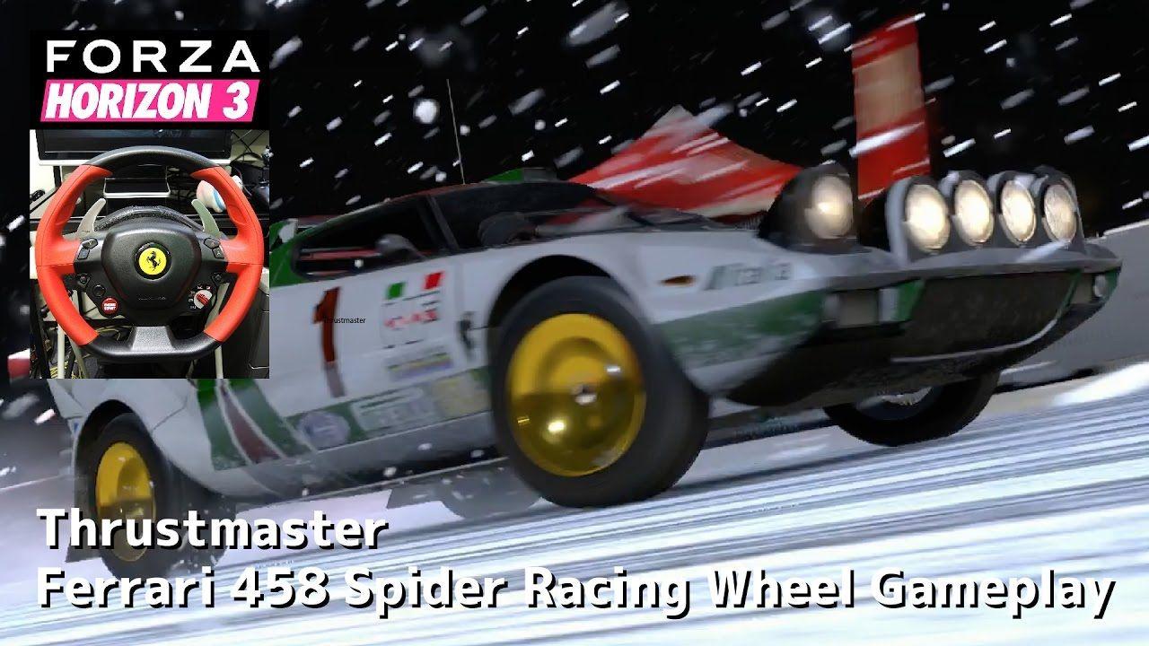6 Forza Horizon 3 Blizzard Mountain Racing Wheel Gameplay
