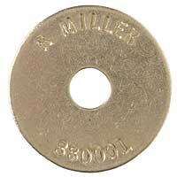Brass 1 1 2 Inch Hd Washer Disc Markers Set Sharpie Markers Magnetic Nails