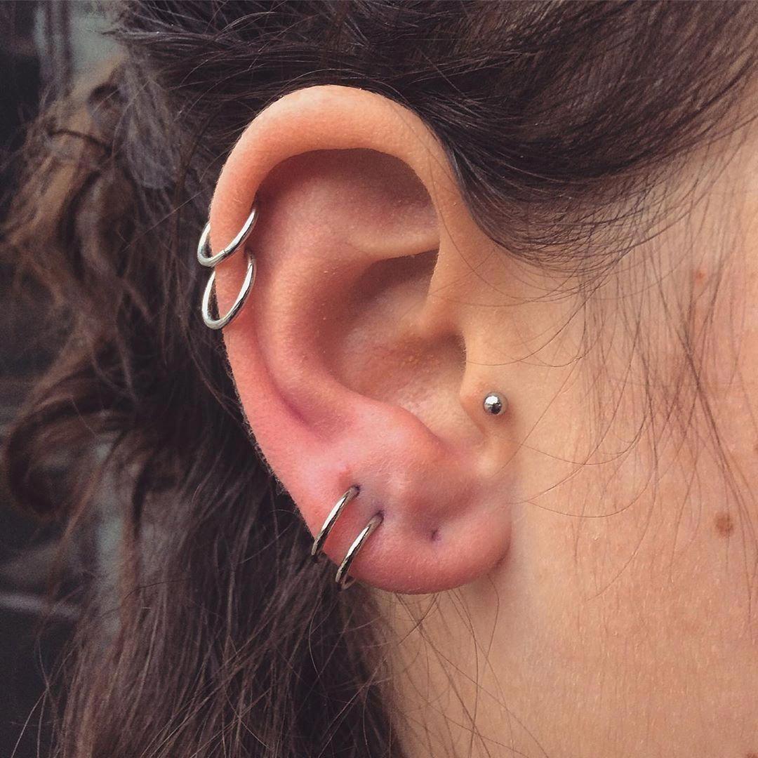 Solid 14k Gold Dot Stud Earrings Gold Circle Earrings 14k Gold