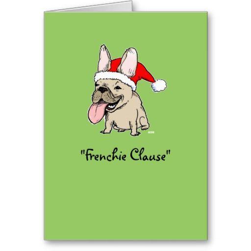 French bulldog christmas card french bulldogs french bulldog christmas card m4hsunfo