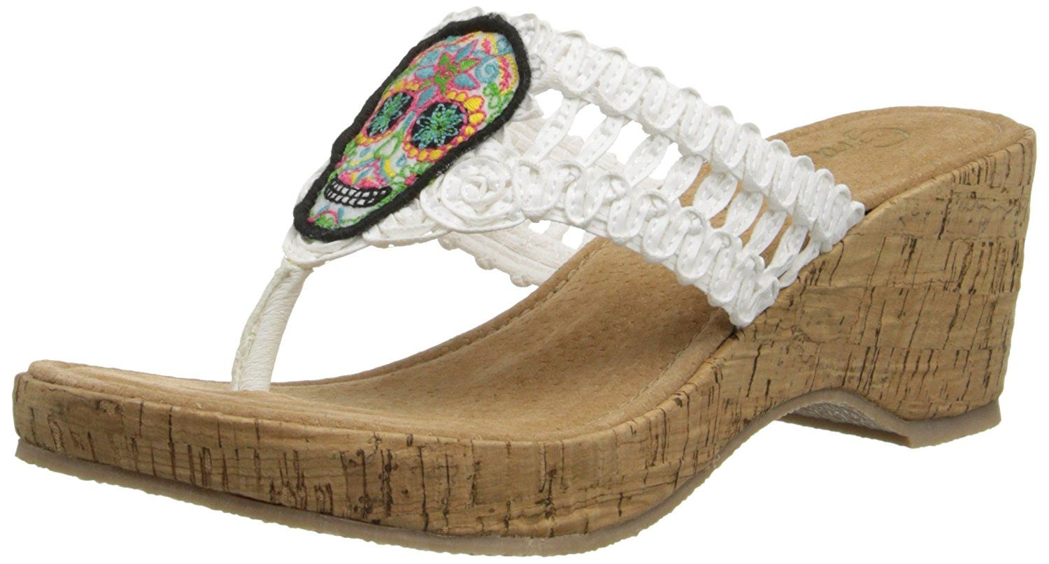 Grazie Women's Dios Wedge Sandal * For more information, visit now at Wedges Shoes board