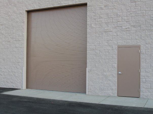 door commercial roll direct steel doors up insulated