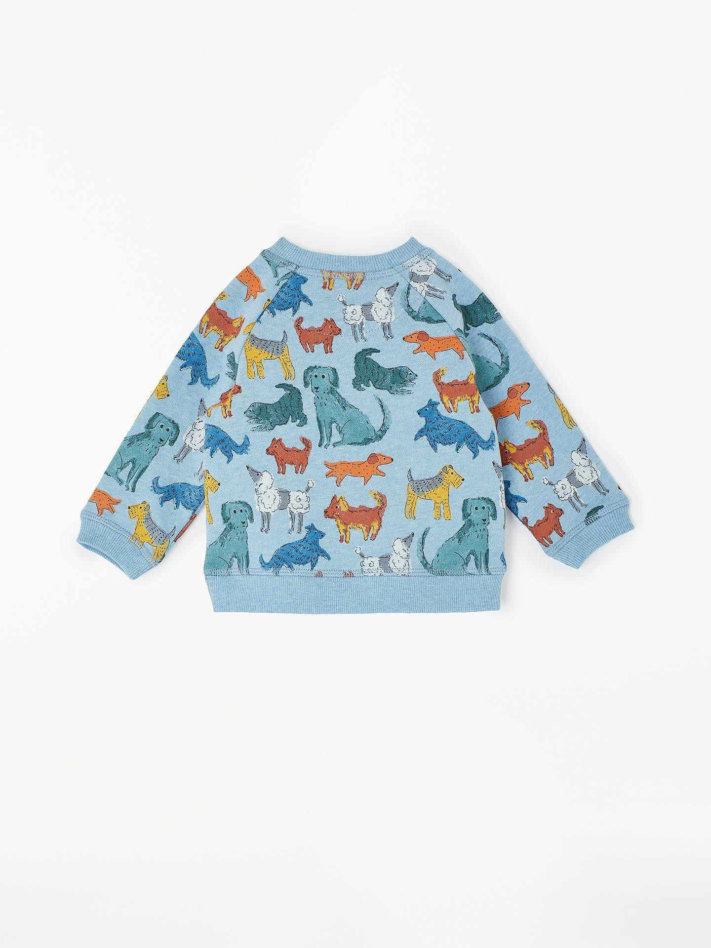 33801ff66933 BuyJohn Lewis   Partners Baby Dog Print Sweatshirt
