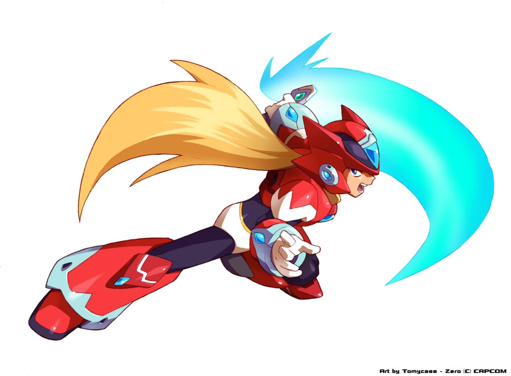 Megaman X Revamp Hunter Zero Mega Man Art Mega Man Maverick Hunter