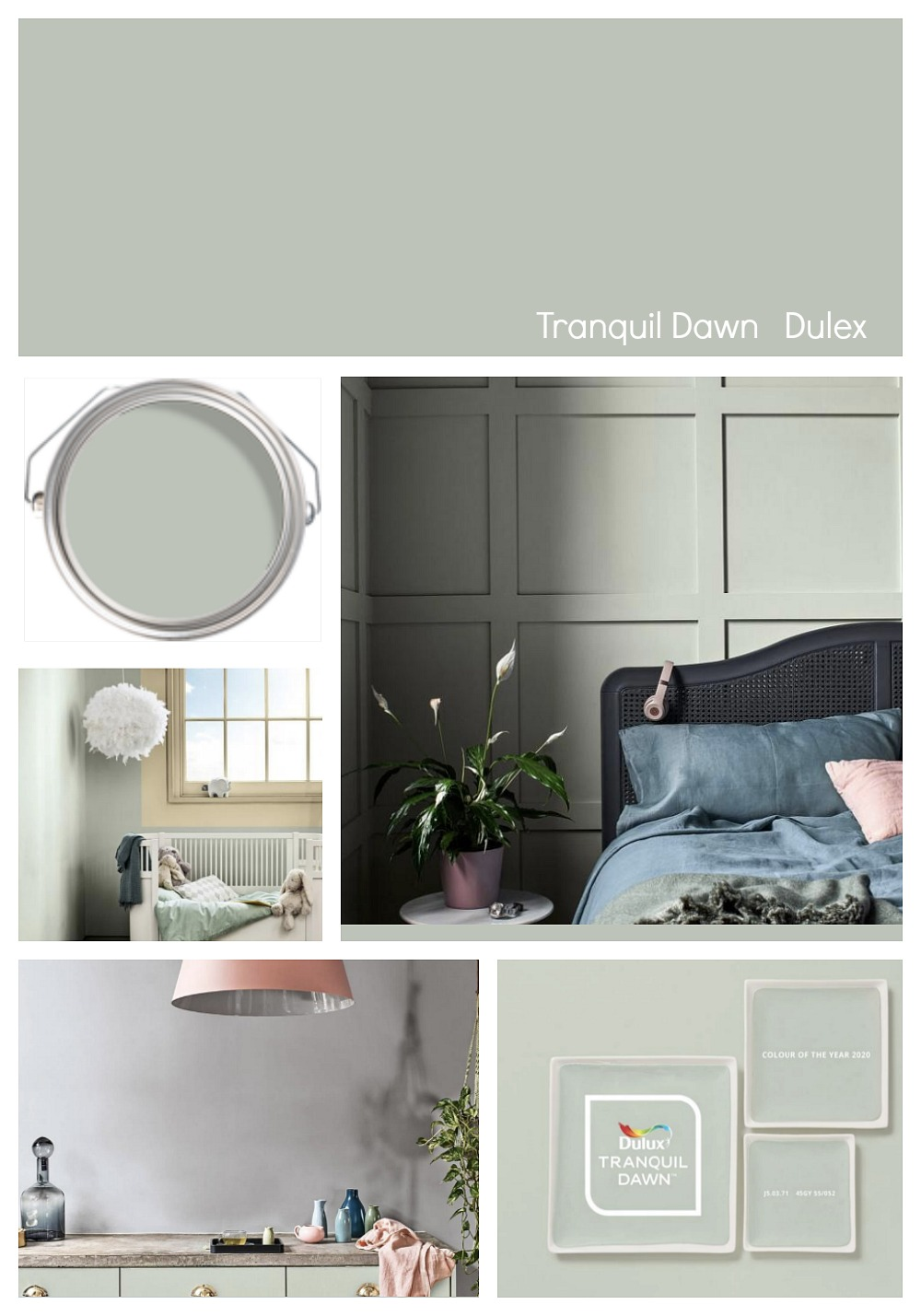 2020 Colors of the Year Trending paint colors, Bedroom